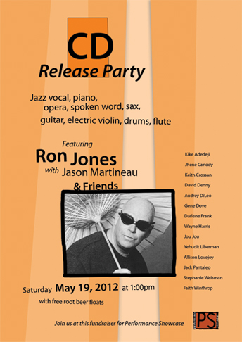Ron Jones CD Release Party